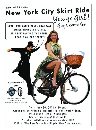 Illustration for article titled Woman Targeted For Biking While Sexy Inspires Protest In NYC