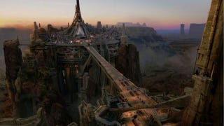 Illustration for article titled First Concept Art from John Carter takes you to Mars