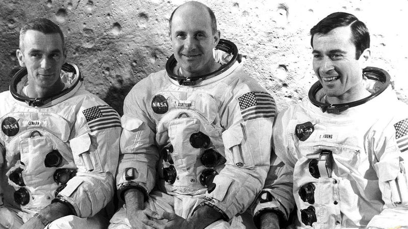 Illustration for article titled No, la NASA nunca ocultó el extraño sonido que escucharon los astronautas del Apolo 10