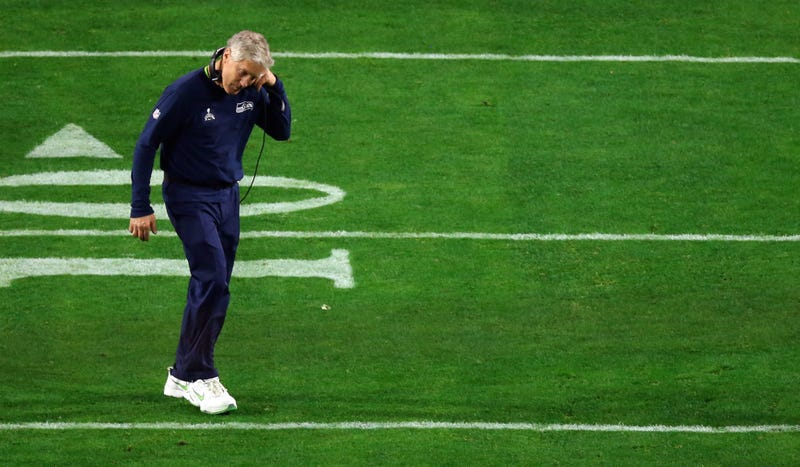 Illustration for article titled Pete Carroll Denies Reports That He Changed Seahawks' Final Play