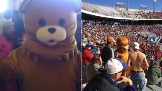 "Illustration for article titled ""Pedobear"" Showed Up At The Houston-Penn State Game Today"