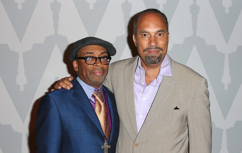 Director Spike Lee and actor Roger Guenveur Smith (Frederick M. Brown/Getty Images)