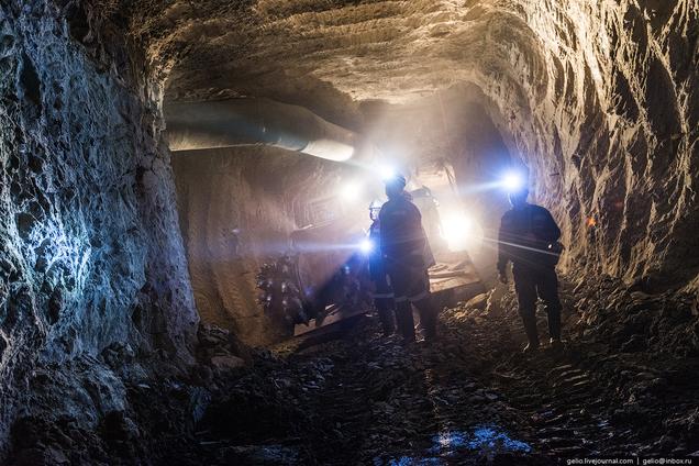 La mina de 1,2 kilómetros que ayudó a construir la Unión Soviética