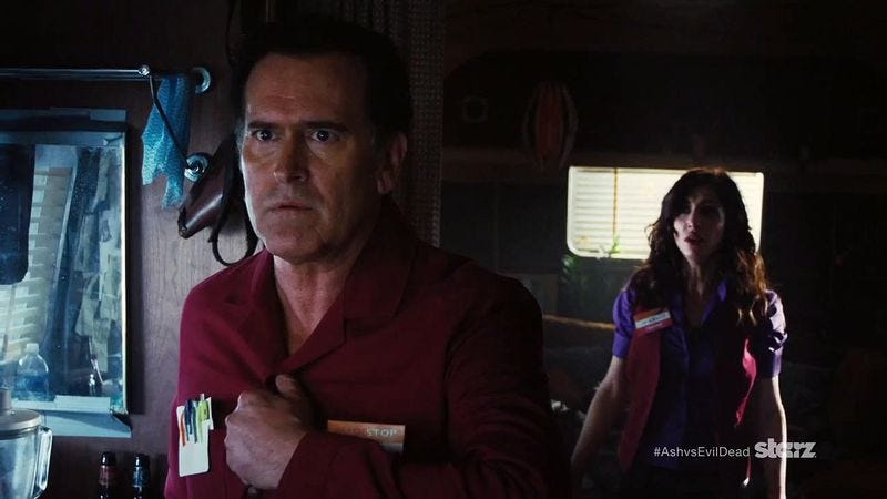 Illustration for article titled Ash will return—again—for a second season of Ash Vs. Evil Dead