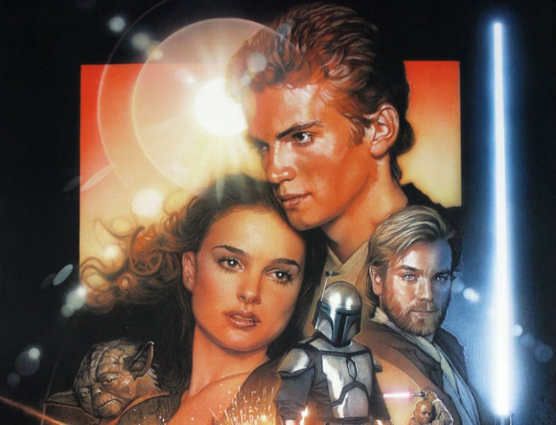 Illustration for article titled Attack of the Clones Is a Star Wars Wish-Fulfillment Checklist Gone Horribly Wrong