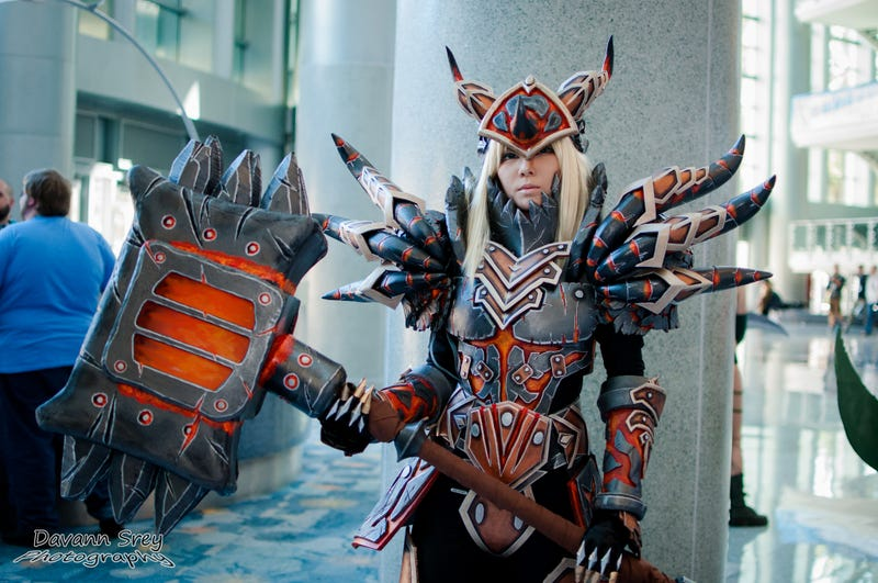 Illustration for article titled So. Much. Armor: A Collection Of Glorious BlizzCon Cosplay!