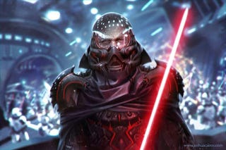 Illustration for article titled After This Star Wars Art Challenge,You'll See Vader In a Brand New Way