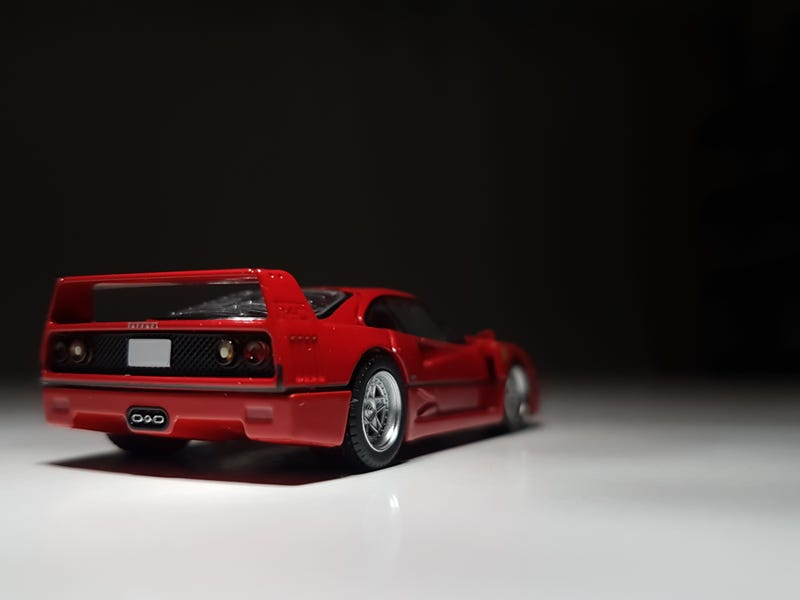 Illustration for article titled I'm Going Broke Pt. 3: Ferrari F40 with Opening Parts V.2