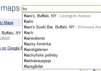 Illustration for article titled Google Maps Adds Auto-Suggestions From Popular Searches, Local Businesses