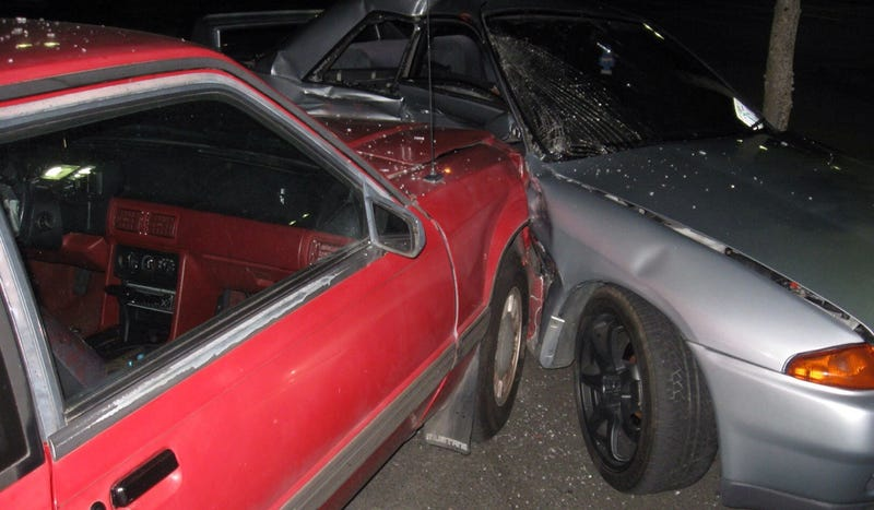 Illustration for article titled Police Are Looking For The Oregonian Who Destroyed This Awesome Nissan Skyline GT-R