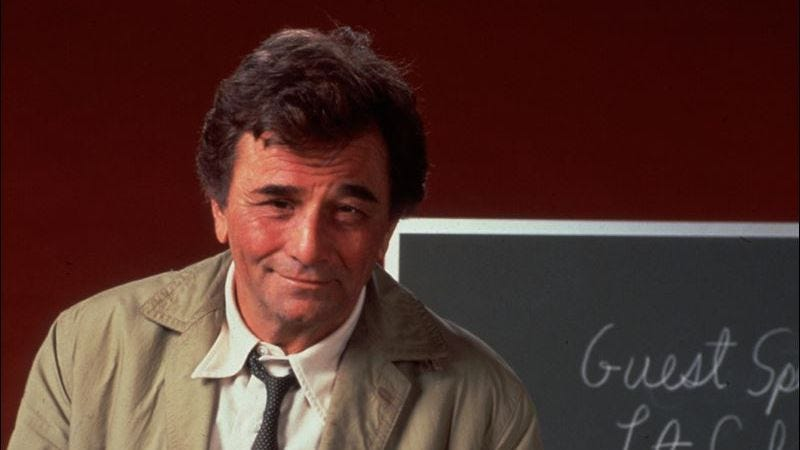 Illustration for article titled 10 episodes that show why Columbo is the most iconic TV detective of all time