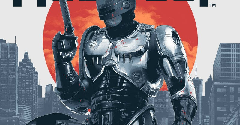 Illustration for article titled RoboCop Looks Better Than Ever in These Awesome New Posters