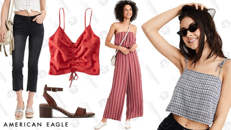 25% off online-only styles | American Eagle | Use code SUNNY25