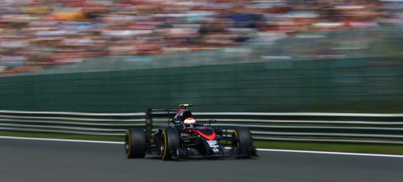 Illustration for article titled McLaren Gets Record 105-Place Grid Penalty For Belgian Grand Prix