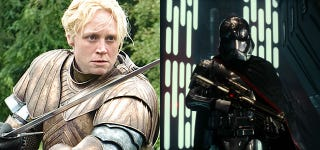 Illustration for article titled Who Wins, Brienne or Captain Phasma? Gwendoline Christie Answers