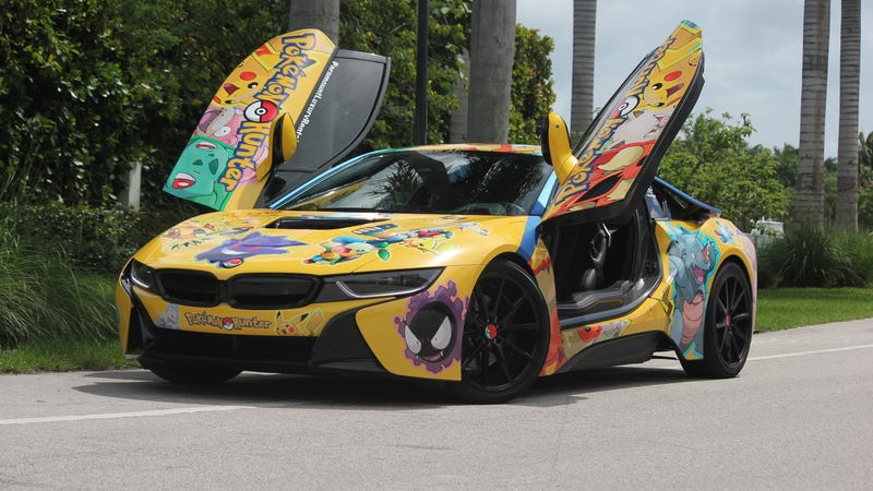 The Reactions To This Pok 233 Mon Themed Bmw I8 Are Just What