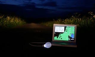Illustration for article titled Bright Idea Light Inspires Via USB