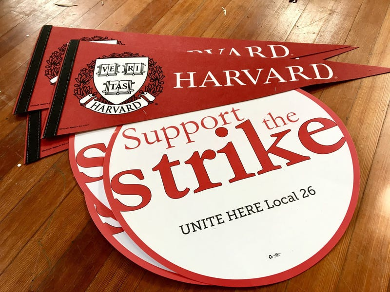 Harvard reaches tentative deal with striking dining workers