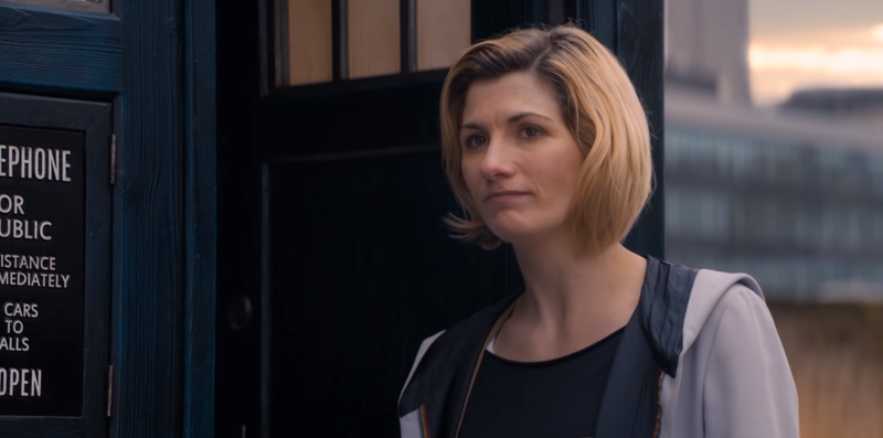 I do not like sad Jodie Whittaker, show, do not do this to me.
