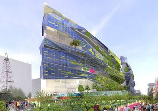 Illustration for article titled XERO Project Green Building Concept: Veggie Does Dallas