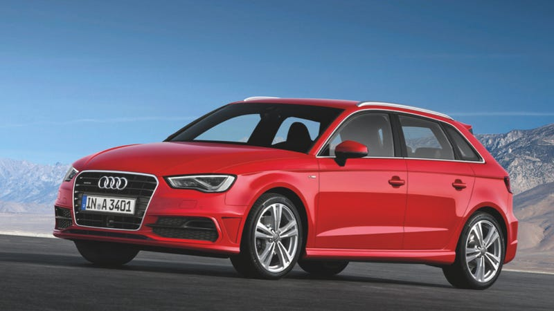 Illustration for article titled Audi A3 Sportback: Pictures