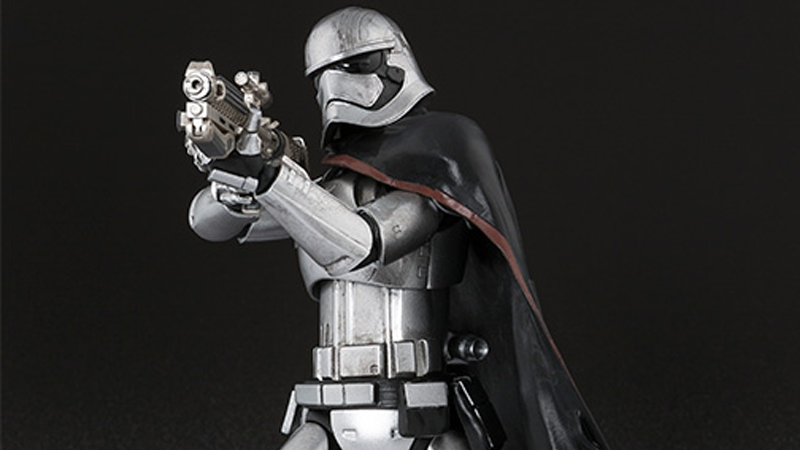 Illustration for article titled Bandai's Captain Phasma Figure Is Totally Badass