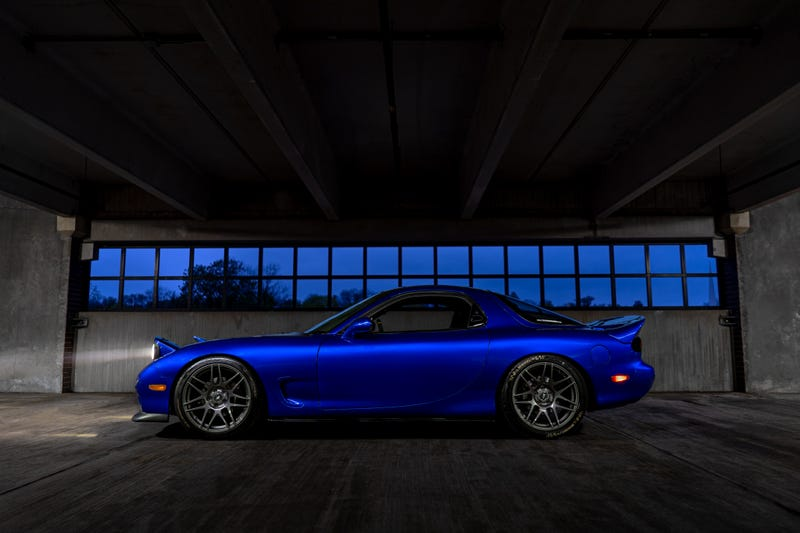 Illustration for article titled Your Ridiculously Awesome, Previously On Fire Mazda RX-7 Wallpapers Are Here