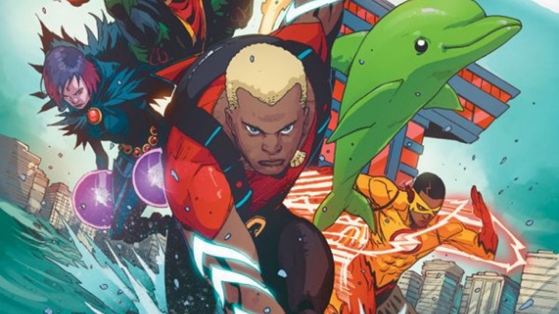 Illustration for article titled Young Justice's Aqualad is Joining the Teen Titans Comic