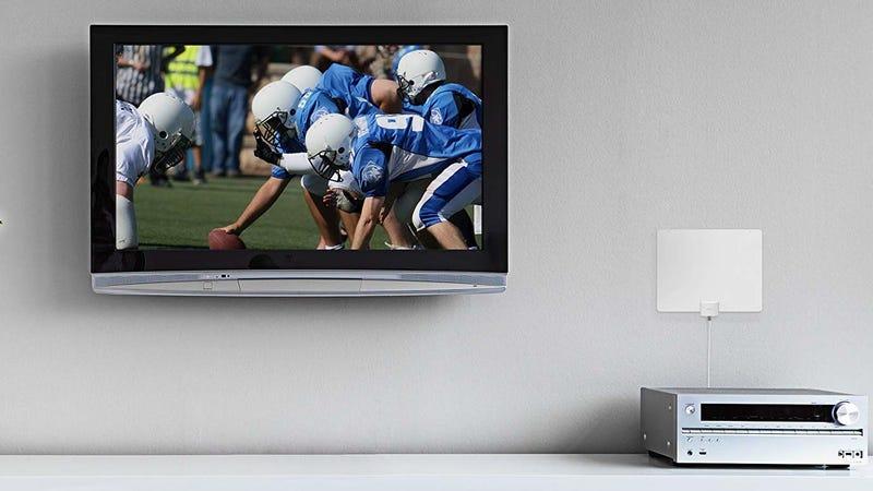 Mohu Leaf 30 HDTV Antenna | $22 | AmazonMohu Leaf 50 HDTV Antenna | $46 | AmazonMohu Curve 50 HDTV Antenna | $48 | Amazon