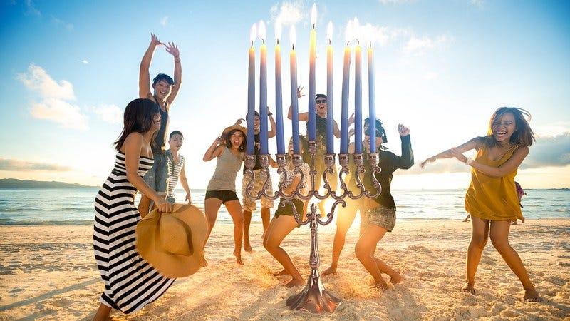 Hanukkah in June.