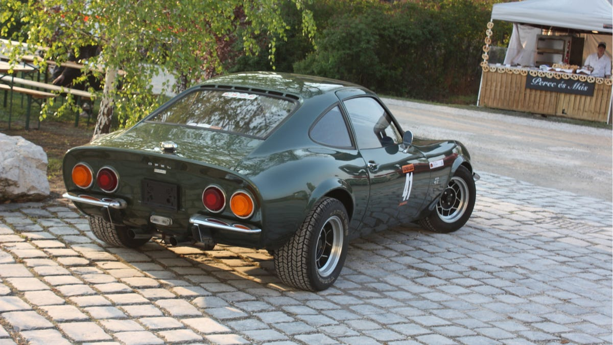 The Opel Gt A History
