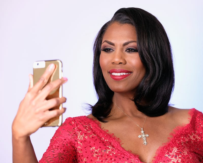 Omarosa ManigaultFrazer Harrison/Getty Images for The Hollywood Reporter
