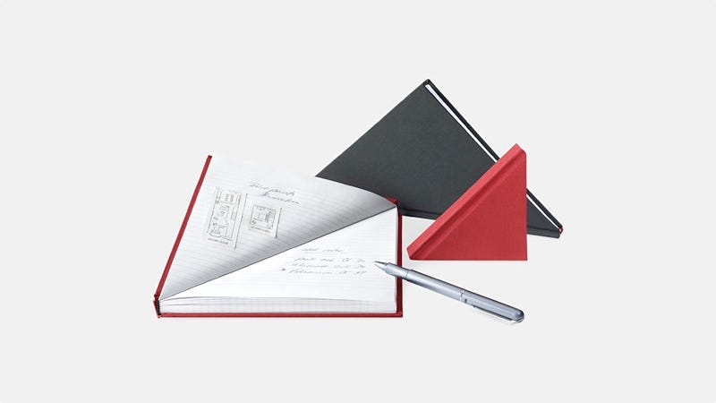 Illustration for article titled Yay or Nay: A Triangle-Shaped Notebook