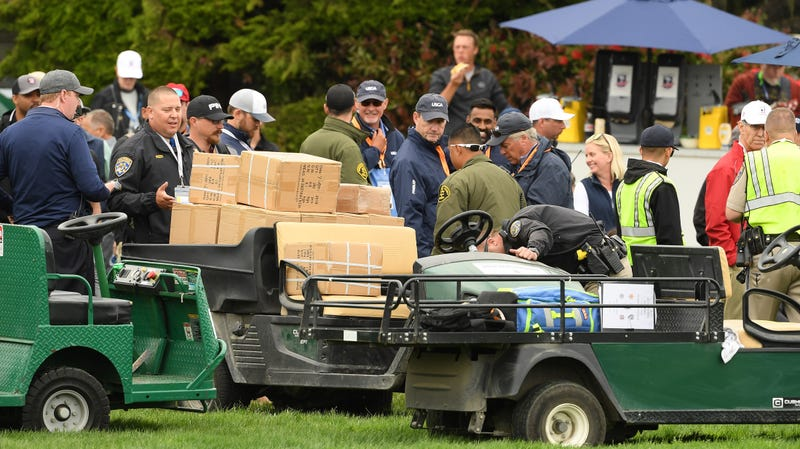 Illustration for article titled Runaway Golf Cart At Pebble Beach Crashes Into Crowd, Hospitalizes Two U.S. Open Spectators