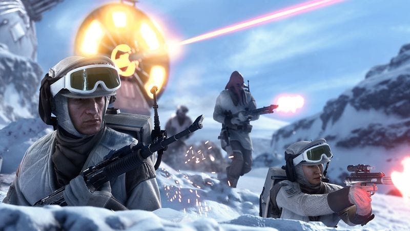 Illustration for article titled Star Wars Battlefront finally gives expendable grunts their due