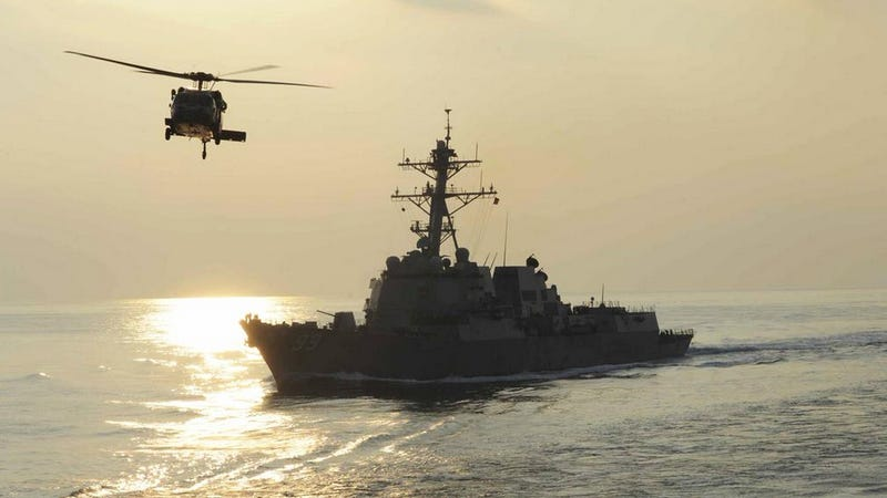 Illustration for article titled US Navy Will Escort US Commerical Ships Through The Straits Of Hormuz