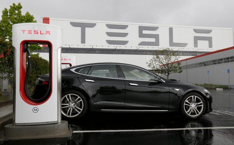 Tesla factory in California
