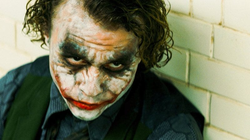 Heath Ledger as The Joker in The Dark Knight (Photo: Warner Bros.)