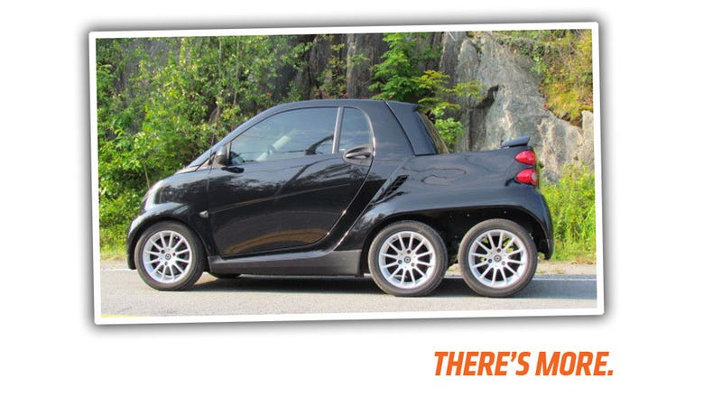 This SixWheeled Smart Car Is The Perfect Drive For Your Descent