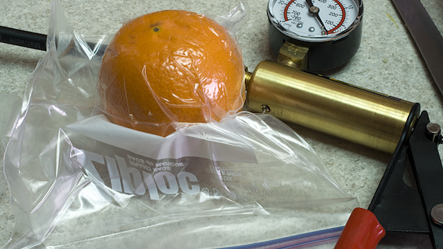 Vacuum Seal Food With A Brake Pump And Some Ziploc Bags