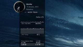 Illustration for article titled Rainmeter 2.2 Released with Lots of Minor Improvements and a New Plugin