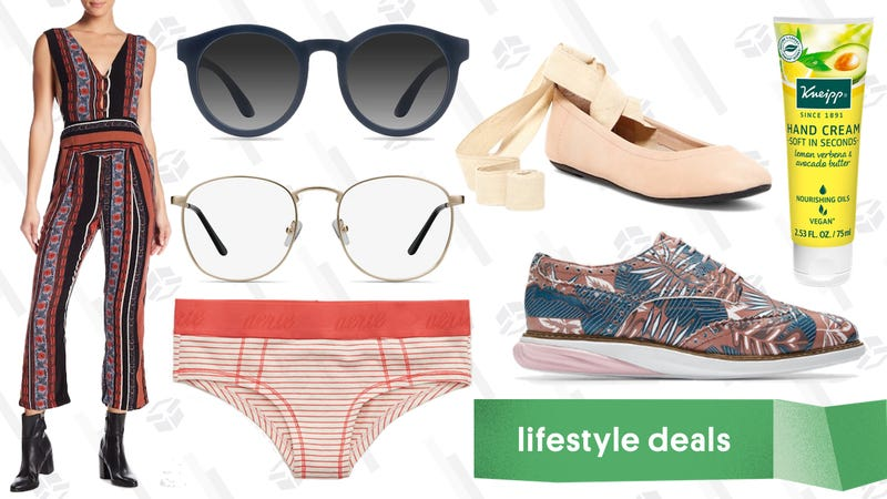 Illustration for article titled Monday's Best Lifestyle Deals: EyeBuyDirect, Free People, Aerie, Cole Haan, and More