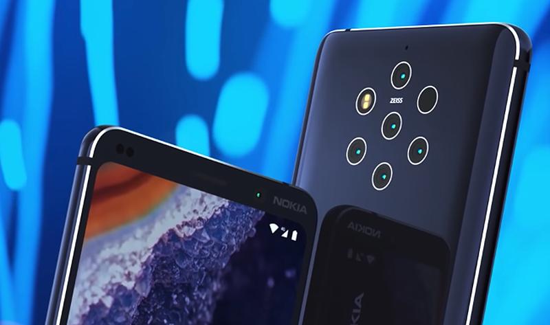 Illustration for article titled Una foto oficial filtrada confirma las cinco cámaras del nuevo Nokia 9 Pureview