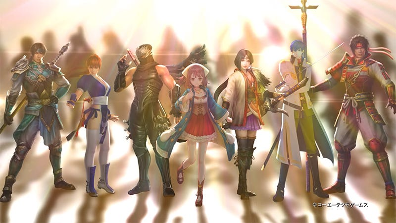 Illustration for article titled Koei Tecmo Takes All The Characters They Have And Drops Them Into A Dynasty Warriors Game
