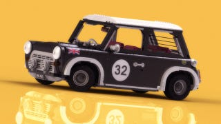 Illustration for article titled Lego Mini Cooper ?  Lego Mini Cooper.  Buy all the LEGOs !