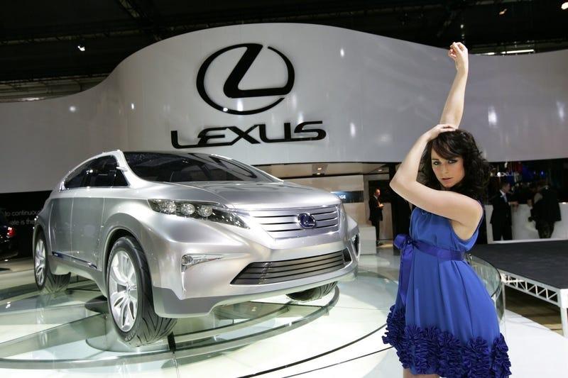 Illustration for article titled Dance (strange) Lexus Lady, Dance