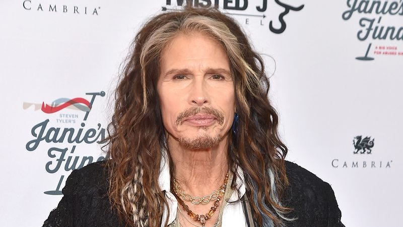 Illustration for article titled Heartwarming: When Steven Tyler Found Out There Was An Aerosmith Fan With Only 2 Weeks To Live, He Suggested A Bunch Of Better Bands She Should Check Out