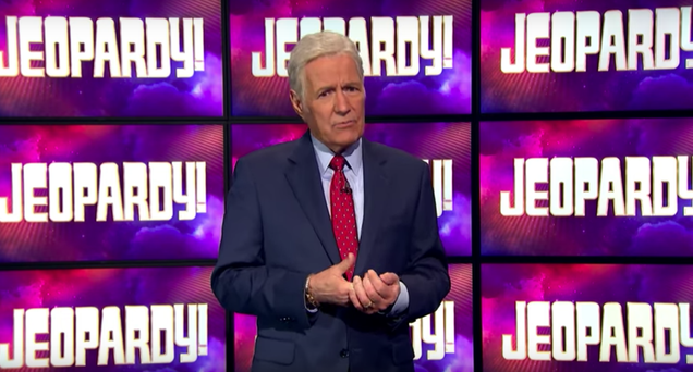 Alex Trebek announces that he's back in chemo treatment in latest cancer update