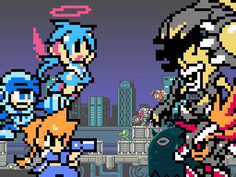 Illustration for article titled Might Gunvolt Will Be Available For Free To Gunvolt Purchase