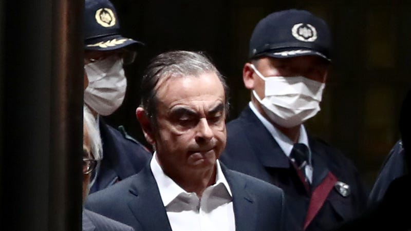 """Illustration for article titled Carlos Ghosn, The """"Re-Founder"""" Of Nissan, Just Wanted What Was Coming To Him"""